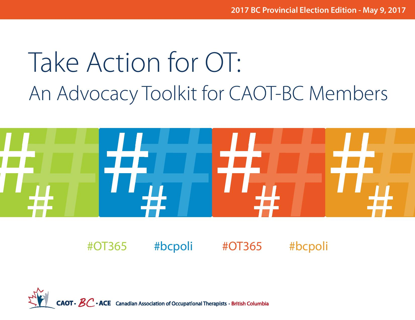 Take Action for OT Front Page